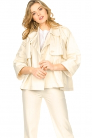 ba&sh |  Cotton trenchcoat Brone | natural  | Picture 2