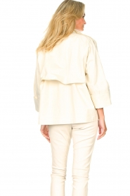 ba&sh |  Cotton trenchcoat Brone | natural  | Picture 8