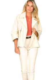 ba&sh |  Cotton trenchcoat Brone | natural  | Picture 4