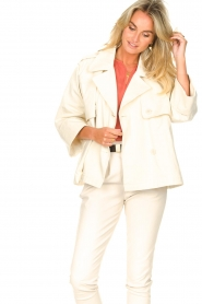 ba&sh |  Cotton trenchcoat Brone | natural  | Picture 6