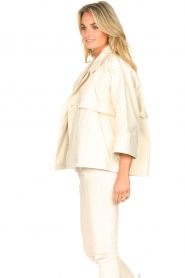 ba&sh |  Cotton trenchcoat Brone | natural  | Picture 7