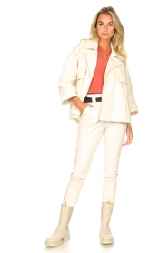 ba&sh |  Cotton trenchcoat Brone | natural  | Picture 3