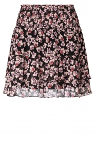 Second Female |  Floral skirt Fleurir | black  | Picture 1