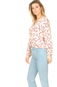 ba&sh |  Printed blouse Clea | natural  | Picture 6