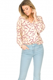 ba&sh |  Printed blouse Clea | natural  | Picture 5