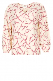 ba&sh |  Printed blouse Clea | natural  | Picture 1