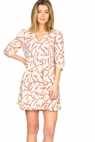 ba&sh |  Printed dress Constance | natural  | Picture 4