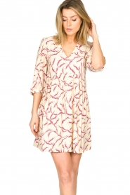 ba&sh |  Printed dress Constance | natural  | Picture 2