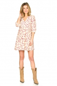 ba&sh |  Printed dress Constance | natural  | Picture 3