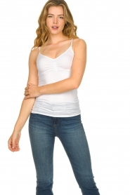 CC Heart |  Seamless top Sem | white  | Picture 3