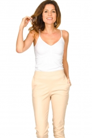 CC Heart |  Seamless top Sem | white  | Picture 2