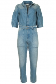 ba&sh |  Denim jumpsuit Frida | blue  | Picture 1