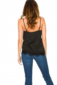 CC Heart |  Top met kant Puck | black  | Picture 5