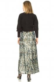 ba&sh |  Maxi skirt with lurex Galina | blue  | Picture 6