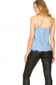 CC Heart |  Top with lace Puck | light blue  | Picture 5