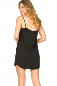 CC Heart |  Slip dress with lace Ivy | black  | Picture 5