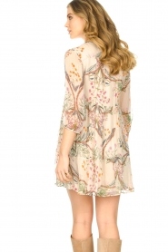 ba&sh |  Semi sheer dress with floral print Goya | naturel  | Picture 6