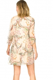 ba&sh |  Semi sheer dress with floral print Goya | naturel  | Picture 8