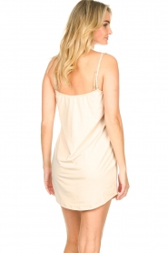 CC Heart |  Slip dress with lace Ivy | nude  | Picture 5