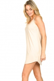 CC Heart |  Slip dress with lace Ivy | nude  | Picture 4