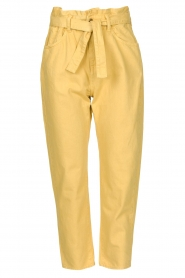 ba&sh |  Paperbag pants Jalia | yellow  | Picture 1