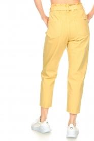 ba&sh |  Paperbag pants Jalia | yellow  | Picture 7