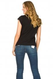 CC Heart |  Cotton mix t-shirt Classic | black  | Picture 5