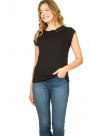 CC Heart |  Cotton mix t-shirt Classic | black  | Picture 2