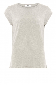 CC Heart |  Cotton mix t-shirt Classic | grey  | Picture 1