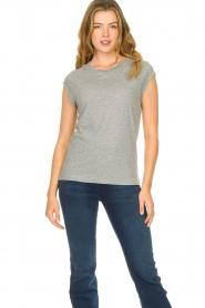 CC Heart |  Cotton mix t-shirt Classic | grey  | Picture 2