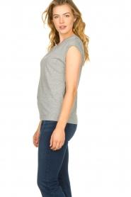 CC Heart |  Cotton mix t-shirt Classic | grey  | Picture 4