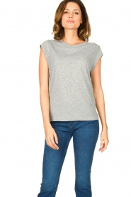 CC Heart |  Cotton mix t-shirt Classic | grey  | Picture 3