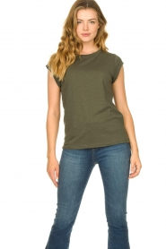 CC Heart |  Cotton mix t-shirt Classic | green  | Picture 2