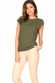 CC Heart |  Cotton mix t-shirt Classic | green  | Picture 4