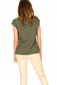 CC Heart |  Cotton mix t-shirt Classic | green  | Picture 6