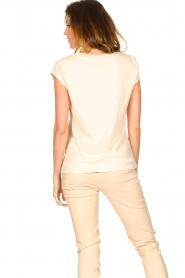 CC Heart |  Cotton mix t-shirt Classic | natural  | Picture 5