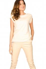 CC Heart |  Cotton mix t-shirt Classic | natural  | Picture 2