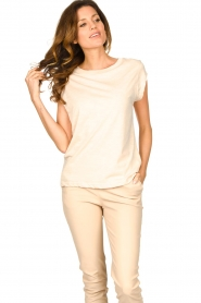 CC Heart |  Cotton mix t-shirt Classic | natural  | Picture 3