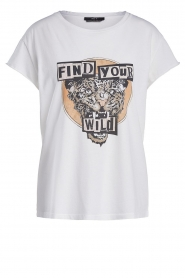 Set |  Cotton T-shirt with print Saba | white  | Picture 1