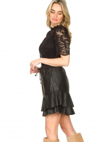 Set |  Top with lace Sam | black  | Picture 5