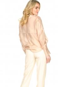 Set | Oversized blouse Sari | nude   | Afbeelding 7