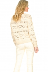Set |  Open work sweater Sinne | natural  | Picture 7