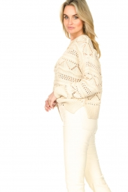Set |  Open work sweater Sinne | natural  | Picture 6