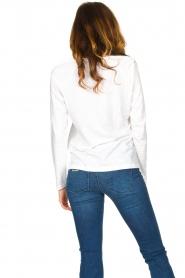 CC Heart    Cotton mix longsleeve t-shirt Mae   white    Picture 5