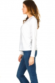 CC Heart    Cotton mix longsleeve t-shirt Mae   white    Picture 4