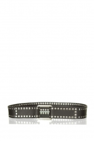The Kaia |  Studded waist belt Suzy | black  | Picture 1