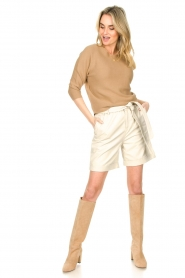 Set :  Knitted sweater Viv | beige - img3