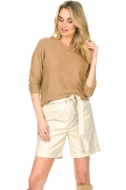 Set :  Knitted sweater Viv | beige - img6