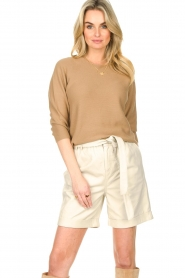 Set :  Knitted sweater Viv | beige - img4