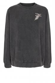 Sofie Schnoor |  Cotton sweater Fiona | black  | Picture 1